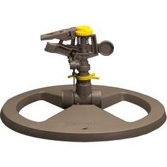 Nelson Sprinkler 50203 Small Circular Base Pulsating Sprinkler, Black