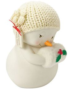 Department 56 Snowpinions Cold Hands, Warm Heart Figurine $16
