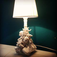 Lamp met speelgoed gemaakt!