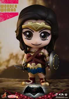 4a38bcb7a [Pre-Order] Wonder Woman Cosbaby Collectible - Batman v Superman: Dawn Of  Justice - Hot Toys figure, figurine, collectible - Marvelous Toys Singapore  Online ...