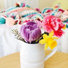 Ladybird Diaries: V stitch blanket