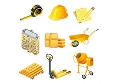 建筑维修工具 设计素材