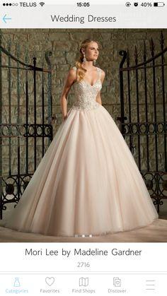 My ideal blush dress