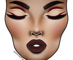 19 images de make up sur We Heart It Fancy Makeup, Red Eye Makeup, Creative Makeup Looks, Bridal Makeup Looks, Colorful Eye Makeup, Skin Makeup, Eyeshadow Makeup, Prom Makeup, Wedding Makeup