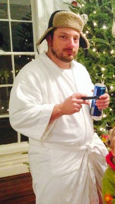 Todd s cousin eddie from christmas vacation for a costume contest he