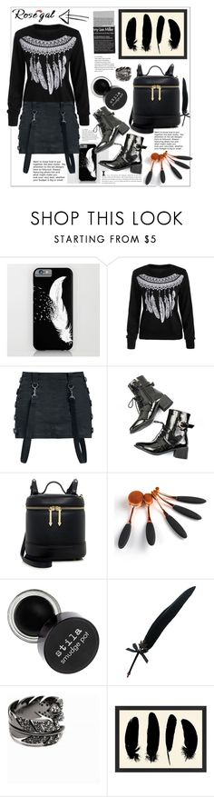 """""""Rosegal"""" by natalyapril1976 ❤ liked on Polyvore featuring Karen Walker, Fountain and Pottery Barn"""