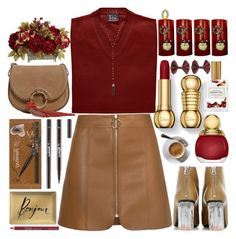 """""""First Sunday Of Advent"""" by grozdana-v ❤ liked on Polyvore featuring Fringe, Acne Studios, Christian Dior, Nearly Natural, Mullein & Sparrow, Tory Burch and Natalie B"""