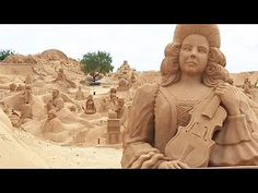 Annual International Sand Sculpture Festival in Portugal - via EuroNews, No Comment 07.08.2014 | FIESA (International Sand Sculpture Festival) is a mega sand sculpture exhibition held annually in the Algarve. During the festival forty thousand tons of sand is transformed into towering sculptures and carved according to a unique theme. This year FIESA is dedicated to music.…