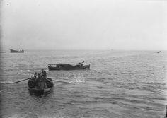 Turf boats near Achill Island, County Mayo, Ireland about 1900ad