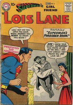 Old Comic Books, Comic Book Covers, Lois Lane, Superman Girlfriend, Superman Pictures, Superman Comic, Superman Stuff, Batman, Children's Comics
