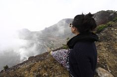On the Top Of  Gede Mountain  West Java , 2750 mdpl