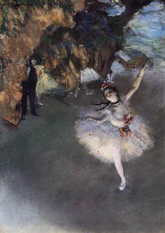 Edgar Degas ドガ 踊りの花形