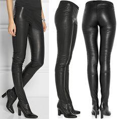 0f622c059b1aec Bad Idea  Kim Kardashian Pairs a Leather Skirt with Tamara Mellon Legging  Boots. LederStiefelKim Kardashian  LeggingsLederrockFußbekleidungOberschenkel Hohe ...