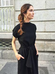 Llevaba un vestido de Loewe de esta temporada