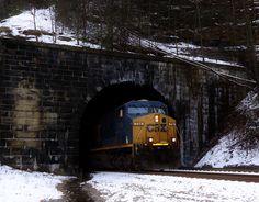 Train tunnel - Tunnelton WV