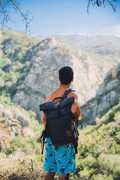 Brevite | The Rolltop camera backpack