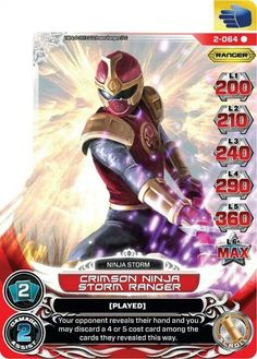 Henshin Grid: Guardians of Justice Power Rangers Action Card Game Cards So Far Power Rangers Ninja Storm, Go Go Power Rangers, Dragon Ball Z, God Of Lightning, Red Wind, Card Games, Game Cards, Action Cards, The Power Of Love