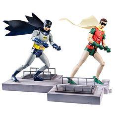 Batman Classics 1966 TV Moments Action Figure 2-Pack