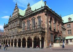 A UNESCO World Heritage site of Bremen - Bremen Rathaus or Town Hall (Germany)