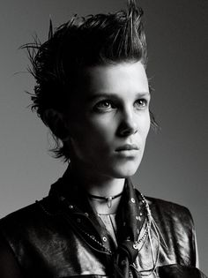 Millie Bobby Brown Manages To Be More Badass Than Eleven In This Photoshoot