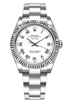 4c2535d102c Rolex Air-King Oyster Perpetual Mens Luxury Watch 114200-BLUOACO