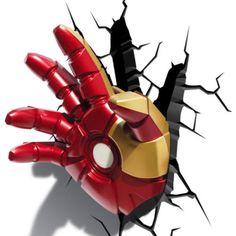 Avengers 3D FX Deco LED Light Ironman Hand Repulsor Glove Wall Decoration NEW   eBay