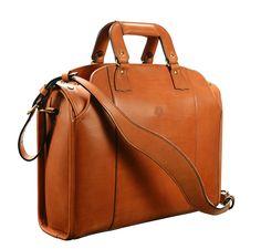 "Hand-burnished, chestnut Deal Bag; 17 x 12 x 5"" www.glaserdesigns.com glaserdesigns.wordpress.com"