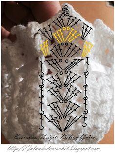 Crochet Diagram, Crochet Chart, Crochet Motif, Crochet Doilies, Crochet Flowers, Crochet Placemat Patterns, Crochet Stitches Patterns, Crochet Designs, Crochet Home