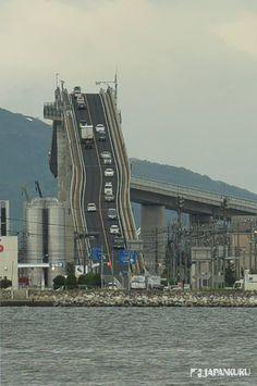 Omg! Is it real? Rent-a-car at Nissan to experience this mysterious Eshima Ohashi Bridge  #japankuru #cooljapan #nissan #tottori #kansai #nissan #rentalcar #rentacar #eshimaohashibridge #日產 #租車 #自駕 #江島大橋 #롤러코스터다리 #간사이 #간사이공항 #간사이여행 #닛산 #닛산렌트카 #렌트카여행 #간사이추천 #에시마대교