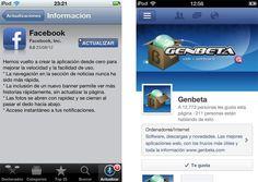 Facebook se rediseña por completo en iOS, llega la versión 5.0 http://www.genbeta.com/p/71130