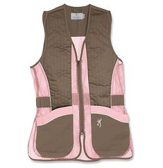 Women's Pink Hunting Vest! Cause You Don't Have To Look Like The Guys Anymore! Womens Hunting Gear Is Here!  http://southernadventuresonline.com/womens-hunting-gear-for-women.php