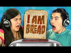 FineBros:Teens react to I Am Bread(Gaming) Part.1