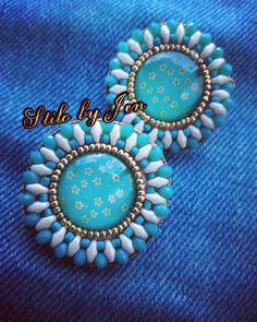 #aretes tipo chapas disponibles ....#color #primavera #earrings #zarcillos #hechoamano #handmade #republicadominicana #madebyme #fashion #fashionista #stylish #stilo #style #chic by stilobyjen