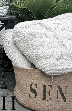 Have to make pillowcases out of old sweaters!