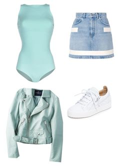 """""""Untitled #187"""" by susannhaabeth on Polyvore featuring Elisabetta Franchi, Givenchy, Giuseppe Zanotti and American Eagle Outfitters"""