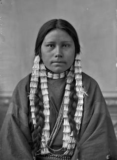 A daughter of Two Bears - Yanktonai - 1872