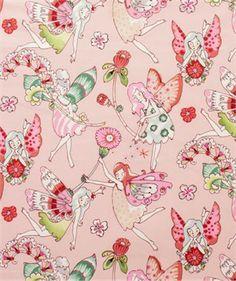 Alexander Henry, Everyday Eden, Flower Fairies Pink