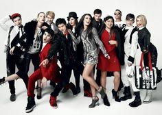 Fashionable Glee cast!