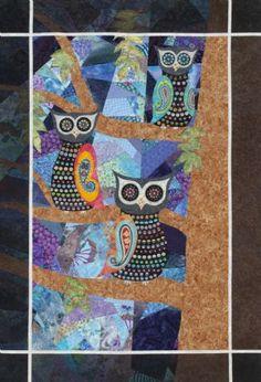 """Trisch Price: """"Midnight Masquerade"""", Hadley Street Quilts for McCall's Design Star Challenge"""