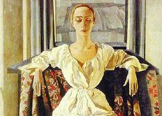 Felice Casorati. Portrait de Silvana Cenni 1929