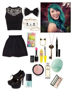 """""""Kalel Kitten"""" by dotoobae ❤ liked on Polyvore"""