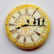 Peter Pan and Kids Clock Cake... forget kids.. I WANT THIS CAKE FOR ME!