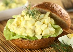 No Mayo Egg Salad - Quick Recipe - American Diabetes Association