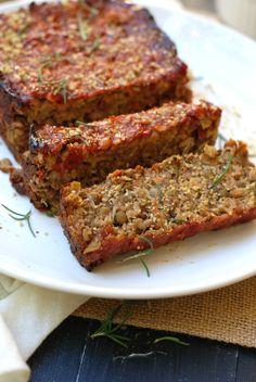Lentil loaf | Pixel-sprout.com