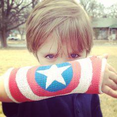 decorating arm cast ideas - Google Search