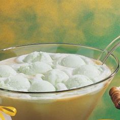 Lime Sherbet Punch - 2 cartons (1/2 gallon each) lime sherbet ,2 cans (46 ounces each) pineapple juice, chilled ,3 liters ginger ale, chilled.Spoon Sherbet into punch bowl . Add pineapple juice & gingerale . Stil until sherbet is partially melted . Serve immediently . 40 Servings
