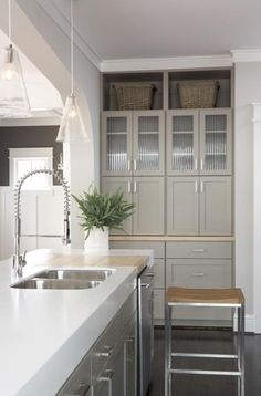 Great use of space, clean, love the deep counters.
