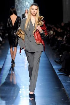 Jean Paul Gaultier auf der Fashion Week Paris H/W 2012/2013