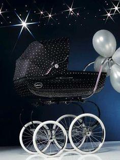 Swarovski Studded Stroller