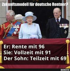 Zukunftsmodell für deutsche Rentner? | Lustige Bilder, Sprüche, Witze, echt lustig